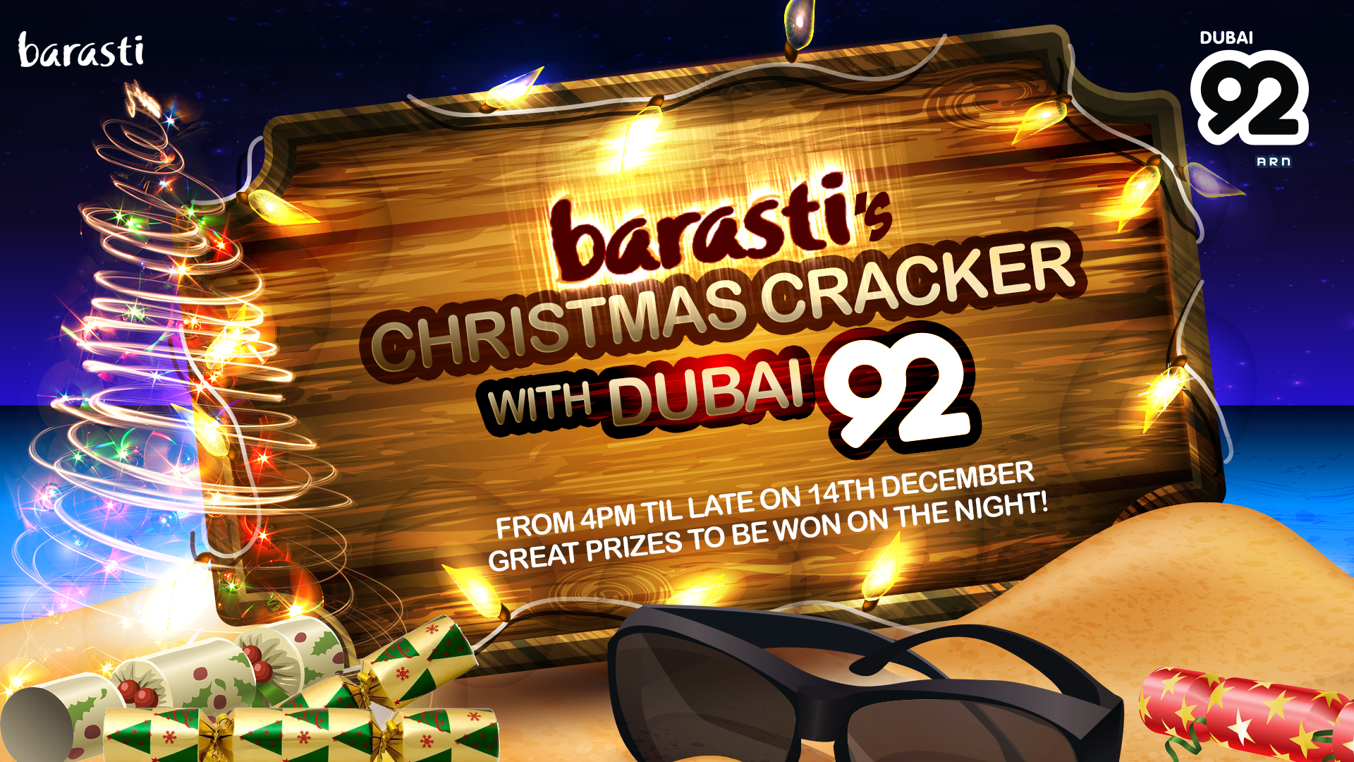 Barasti's Christmas Cracker